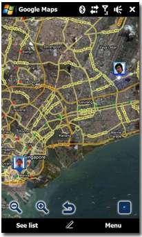 نرم افزار Google Maps V4.1.0 – پاکت پی سی